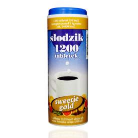 Słodzik stołowy Sweetie Gold 1200 tabletek