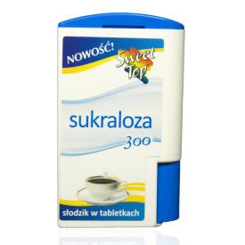 Słodzik stołowy Sweet Top Sukraloza 300 tabletek automat